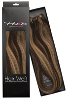 Poze Standard Natural Hairweft - 110g Chocco Cola 4B/9G - 50cm