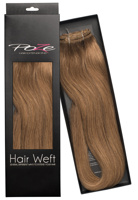 Poze Standard Hairweft - 110g Light Brown 8B - 50cm