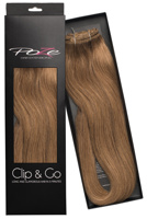 Poze Standard Clip & Go Hair Extensions - 125g Light Brown 8B - 40cm