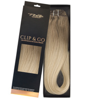 Poze Standard Clip & Go Hair Extensions - 125g Ash Mix Balayage 8A/10NV - 50cm