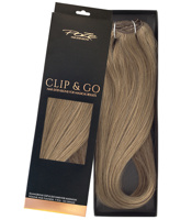 Poze Standard Clip & Go Hair Extensions - 125g Light Ash Brown 8A - 50cm