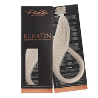Poze Standard Keratin Extensions Dirty Blonde Mix 10B/12AS - 40cm