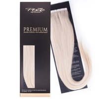 Poze Premium Tape On Hair Extensions - 52g Platinum 12NA - 50cm