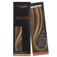 Poze Standard Tape On Extensions - 52g Chocco Cola 4B/9G - 50cm