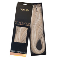 Poze Standard Wire & Clip Extensions - 130g Dirty Blonde Mix 10B/12AS - 50cm