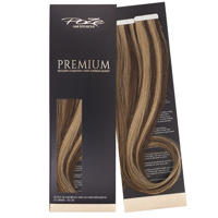 Poze Premium Tape On Hair Extensions - 52g Chocco Cola Mix 4B/9G - 50cm